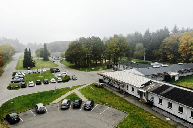 Luftfoto af Sdr. Omme Fængsel